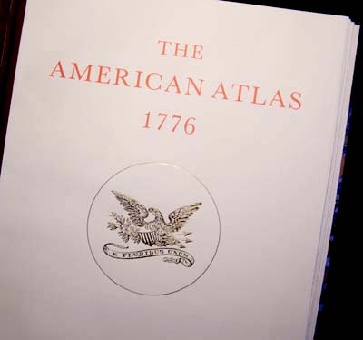 The American Atlas 1776 - Limited Edition