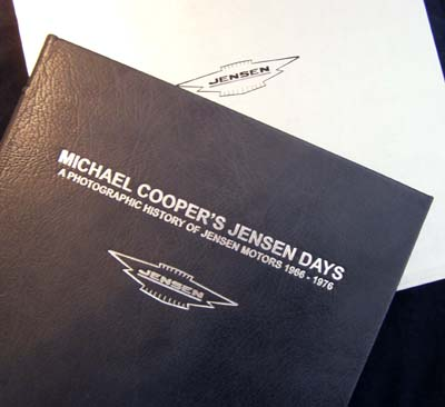 Michael Cooperâs Jensen Days Limited Edition