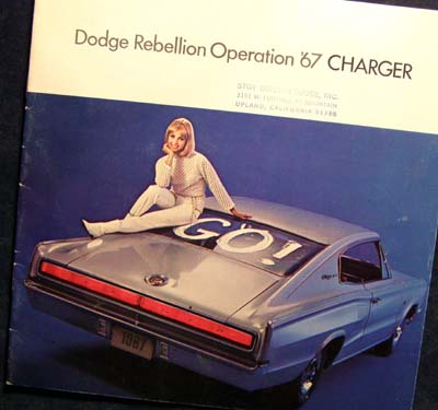 Dodge Charger 1967 Brochure