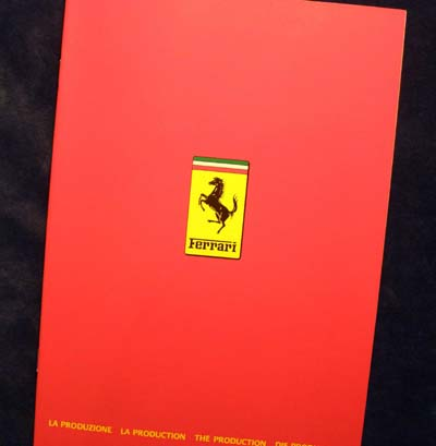 Ferrari Factory Year Book 1983