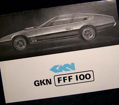 GKN Four-Wheel-Drive FFF 100 Brochure 1972