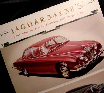 Jaguar 'S' Models 1964 Brochure